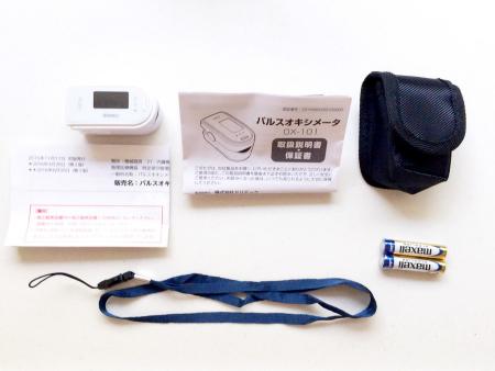 パルスオキシメーターOX-101,ドリテック