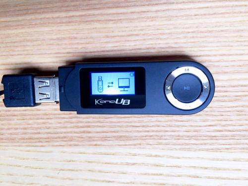 グリーンハウス,GH-KANAUB16,MP3プレーヤー
