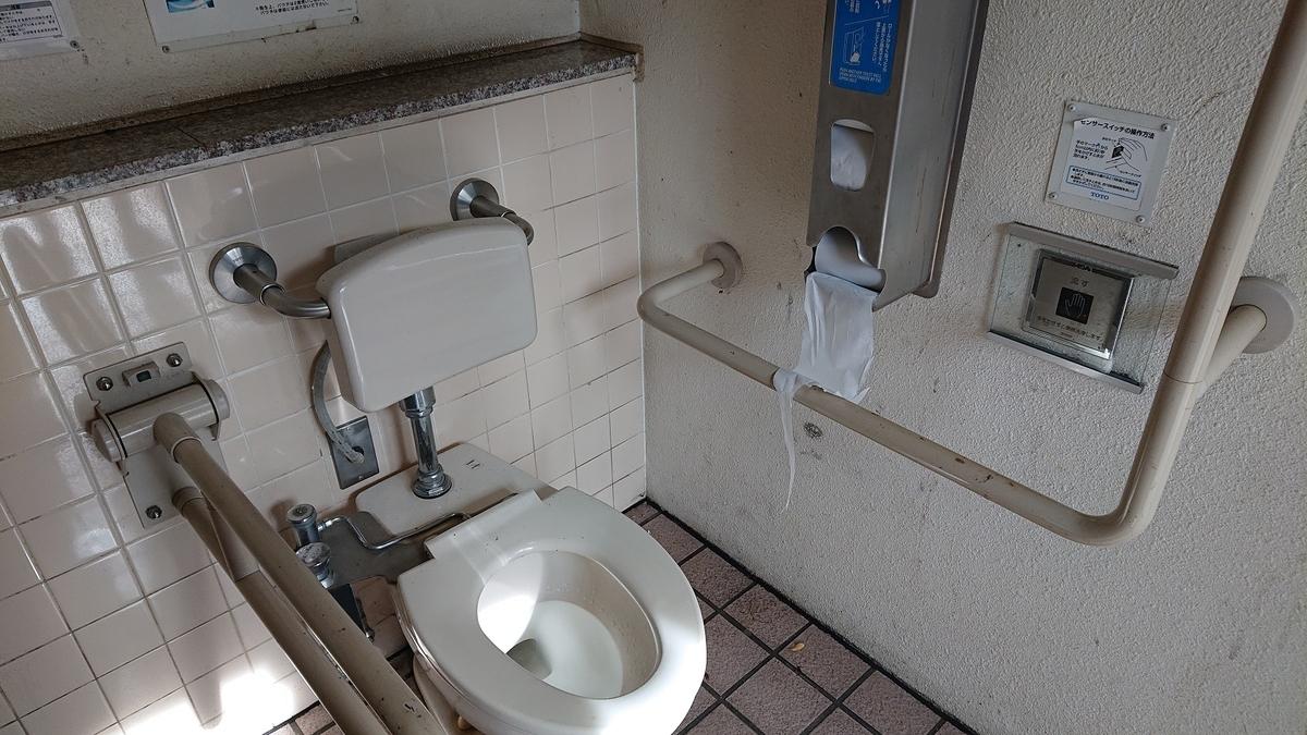 佐野1丁目ゆめ公園のトイレ