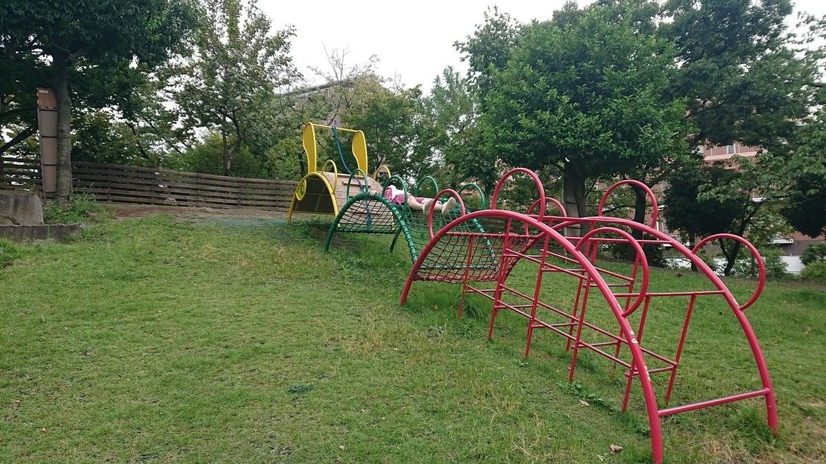 牡丹町公園のハンモック