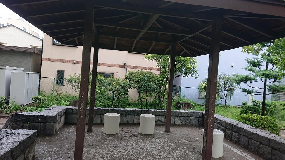 若宮公園の屋根付き和室
