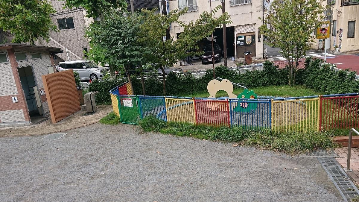 森下4丁目児童遊園の砂場