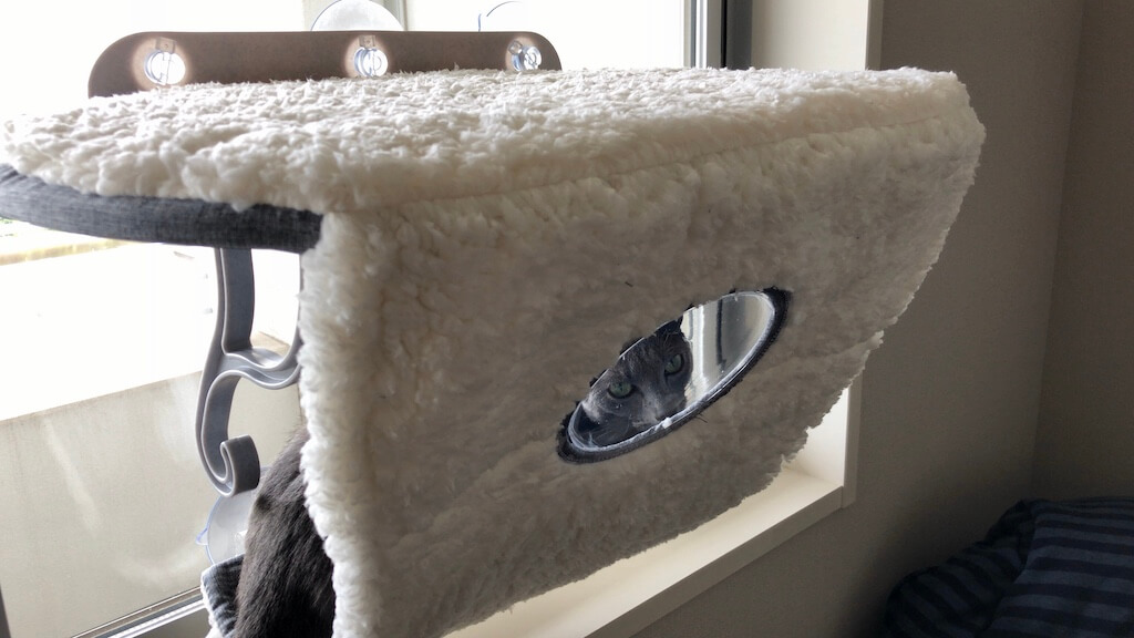 K&H Universal Mount Kitty Sill with Hood