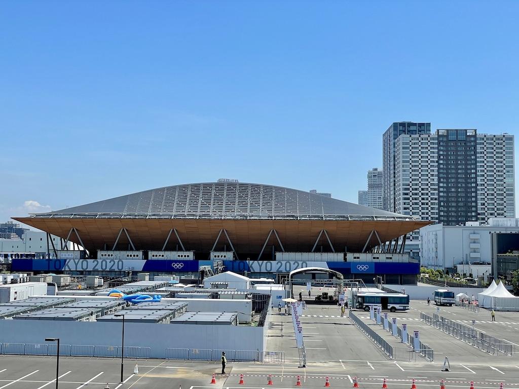 TOKYO2020 有明体操競技場
