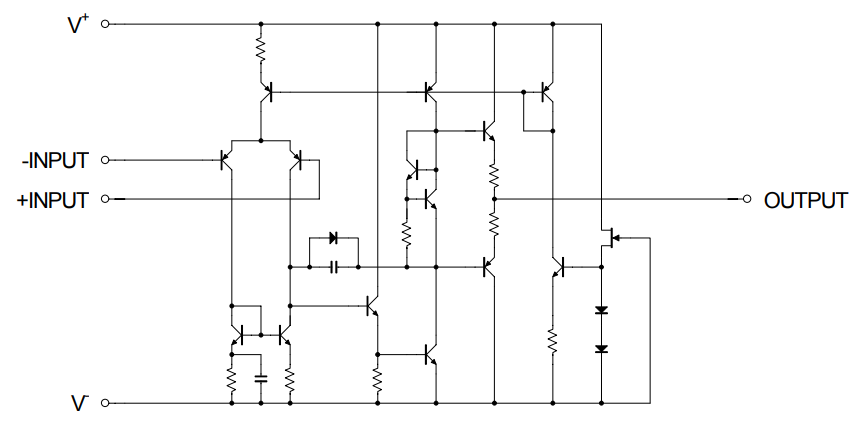 これはNJM4580の等価回路