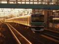 常磐線快速E231系0番台マト128編成