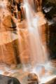 京都新聞写真コンテスト「変色・鶏鳴の滝」