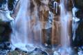 京都新聞写真コンテスト「凍る鶏鳴の滝」