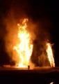 京都新聞写真コンテスト「火祭・クライマックス」