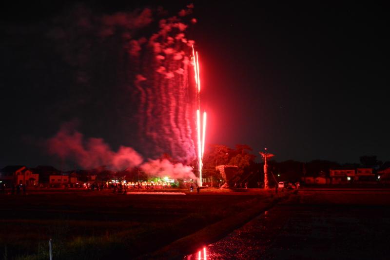 京都新聞写真コンテスト「火祭・オープニング」