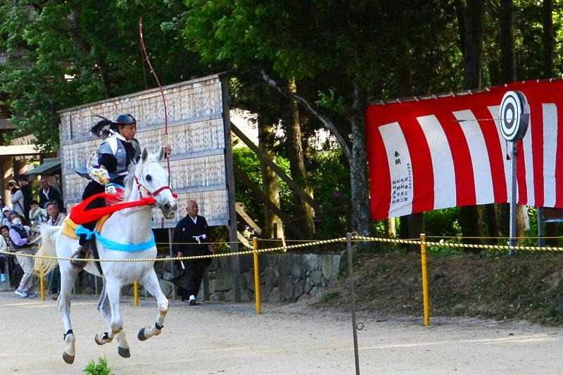 京都新聞写真コンテスト「的中」