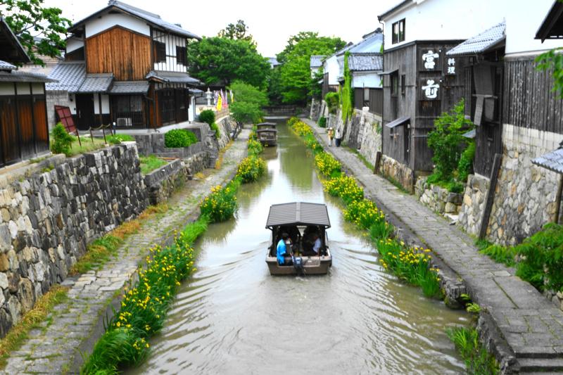 京都新聞写真コンテスト「屋形船・帰港」