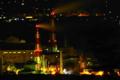 京都新聞写真コンテスト「夜の工場」