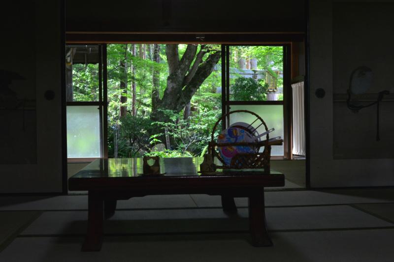 京都新聞写真コンテスト「静寂・庫裡」
