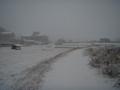 雪道を歩くのは楽しいんですが…
