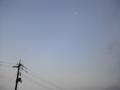 [空]空と小さい月2012.1月