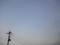 空と小さい月2012.1月
