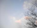 [冬][空]冬の夕空2012.1.9