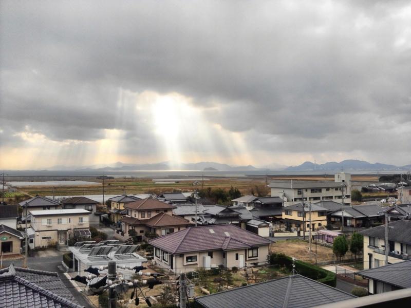 天からの光2012.1.11