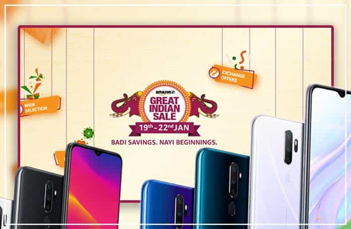 Amazon Great Indian Sale Offering The Big Discounts On