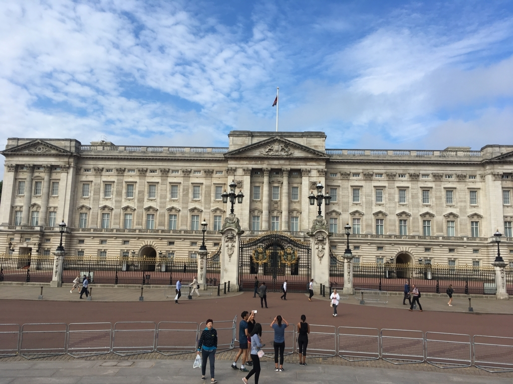 Buckingham Palace-8:30am