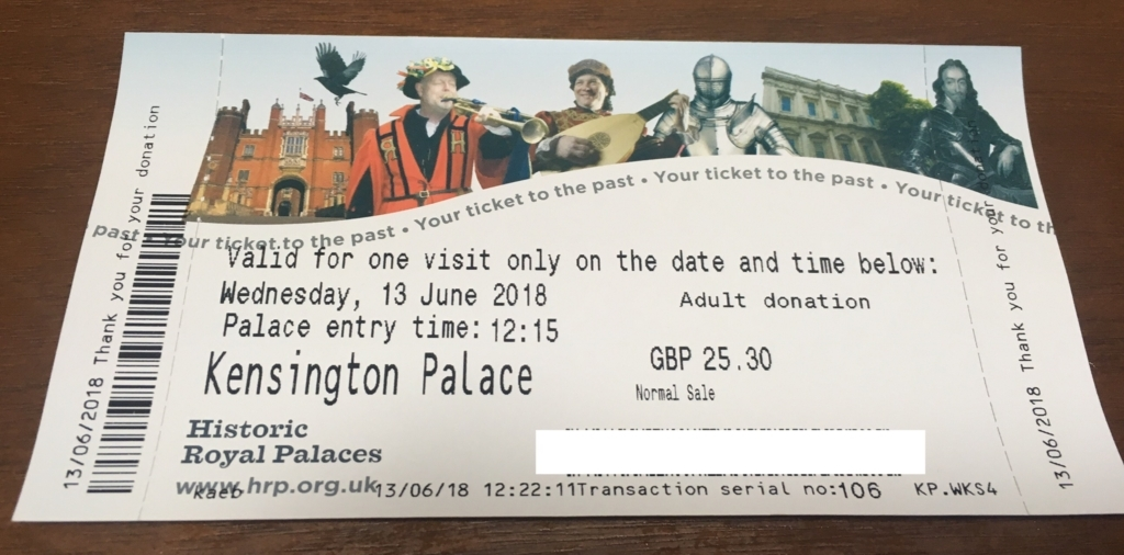 kensingtonpalace-ticket