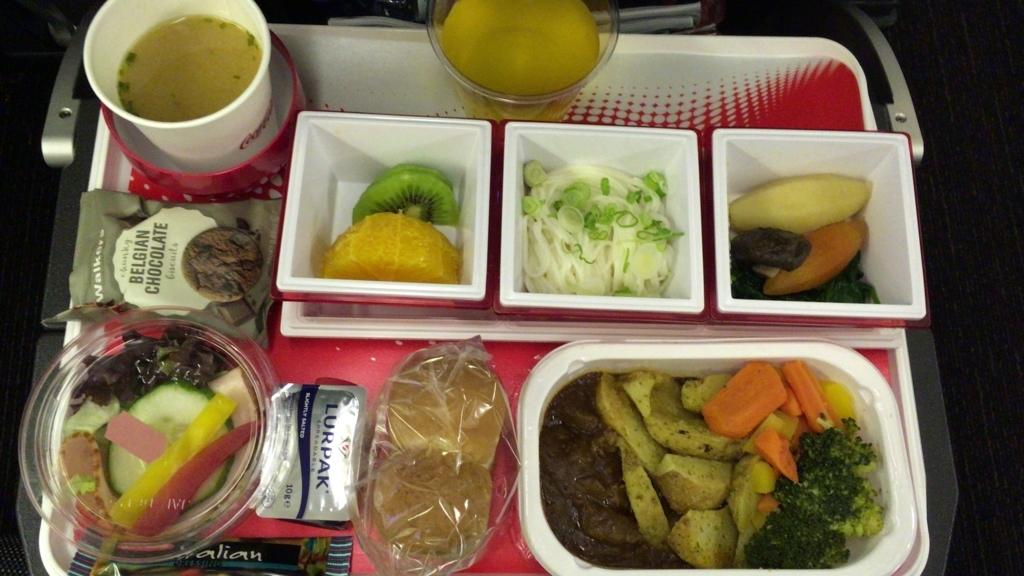In-flight meal1