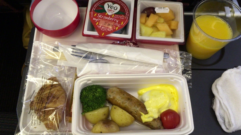 In-flight meal2