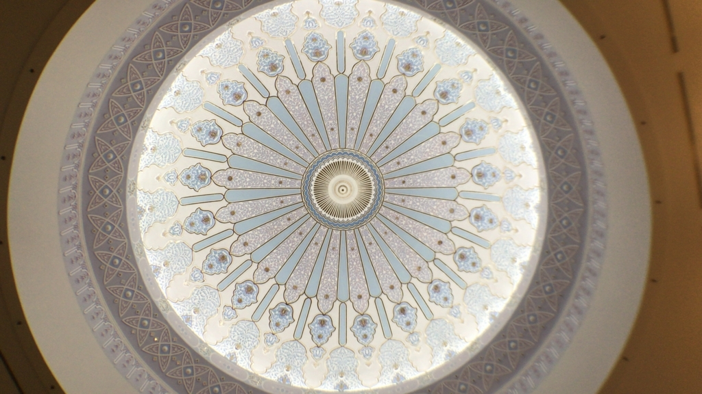 Islamic Arts Museum ceiling2
