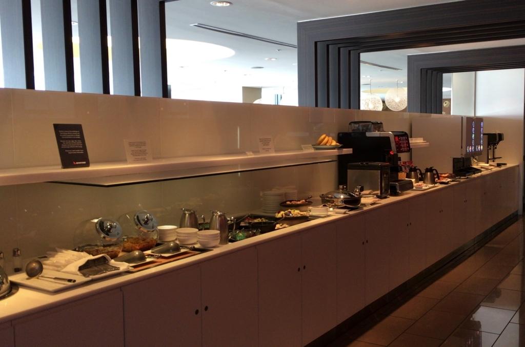 Qantas Lounge Meal1