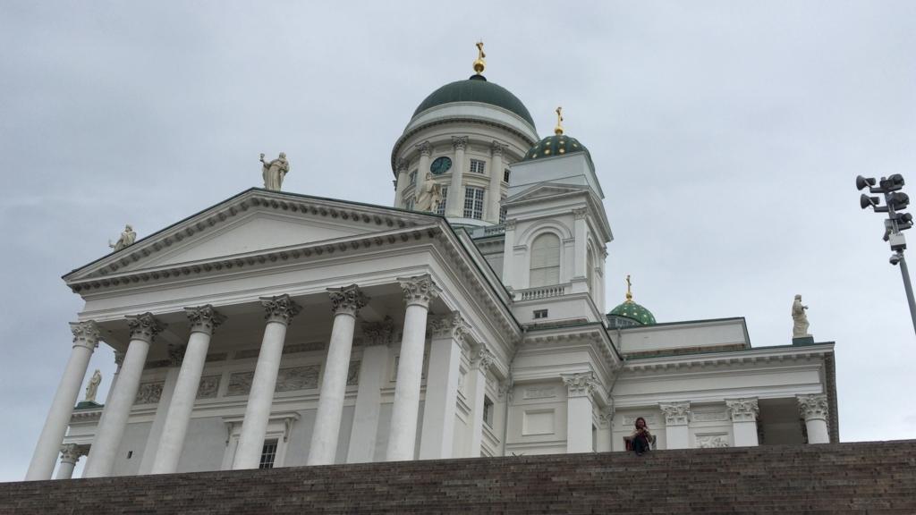 Helsingin tuomiokirkko appearance