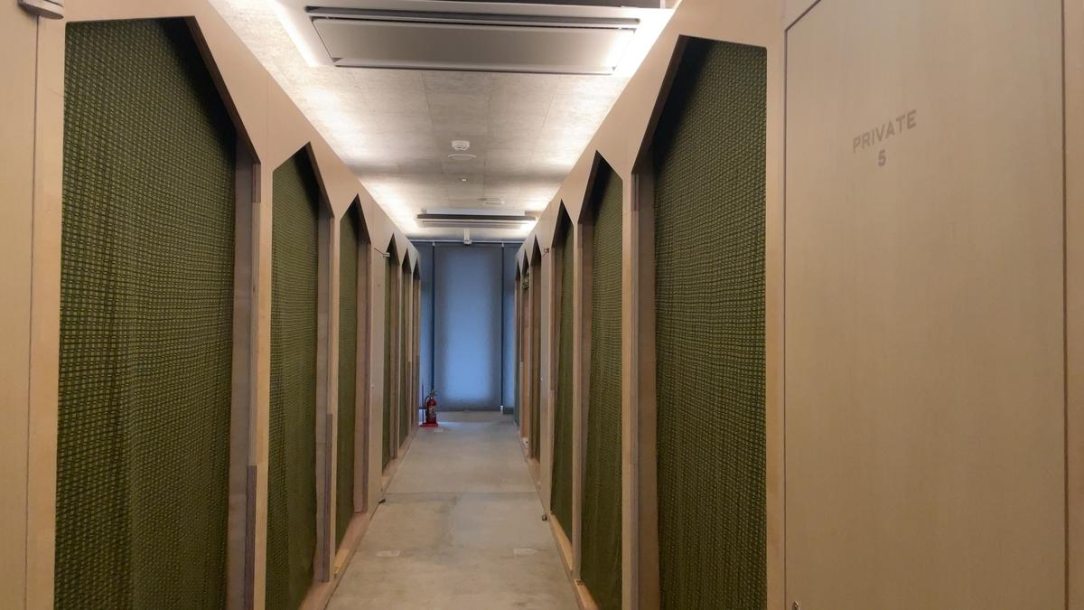 MAJA HOTEL KYOTOの内部通路