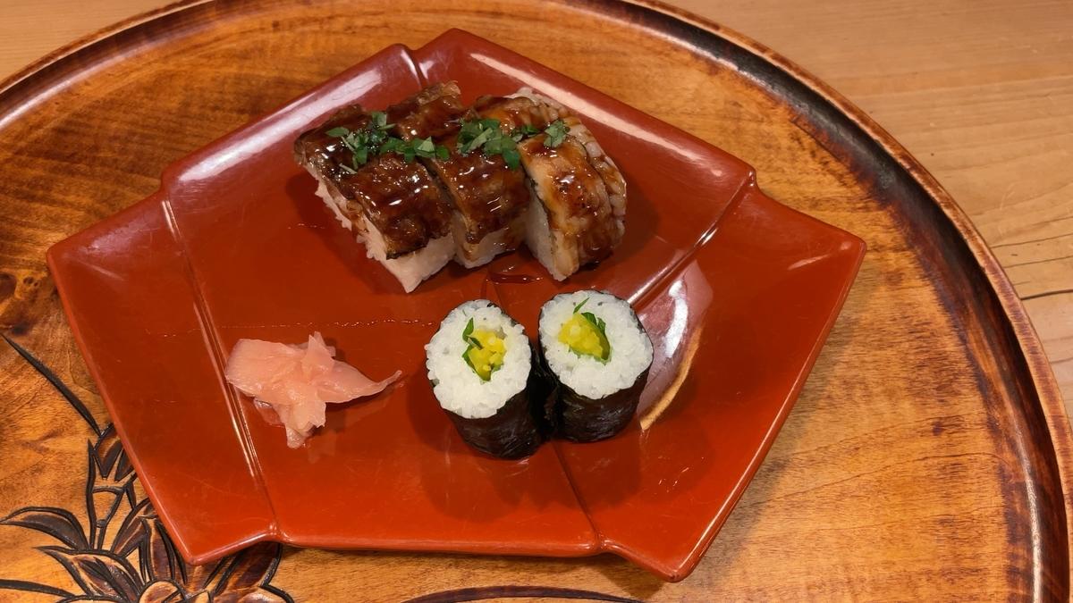 鱧小袖寿司