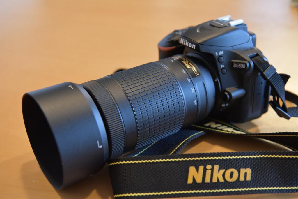 D5600とAF-P70-300mmセット例