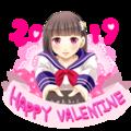 バレンタイン2019。
