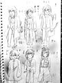 枯井戸さんのキャラクター案2