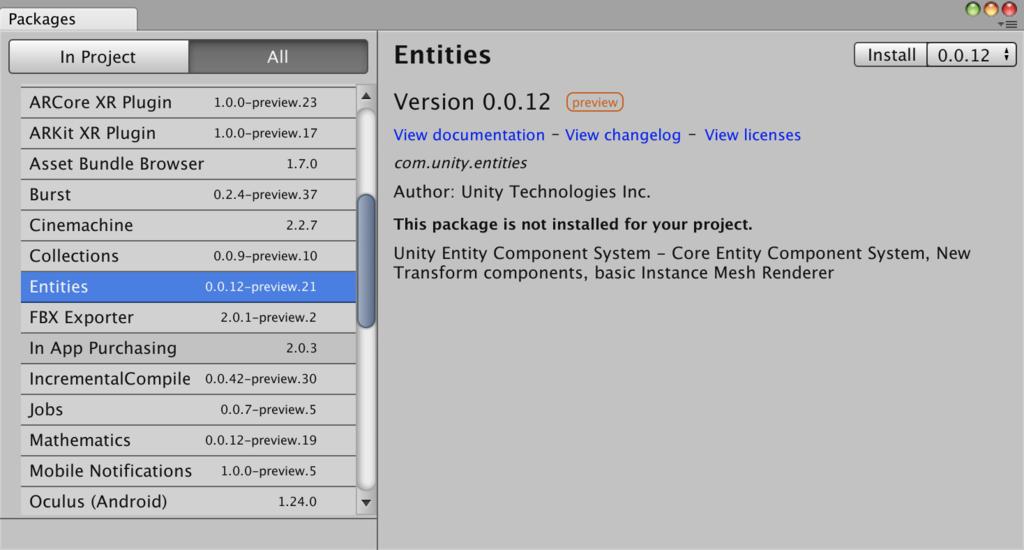 Unity で Boids シミュレーションを作成して Entity Component