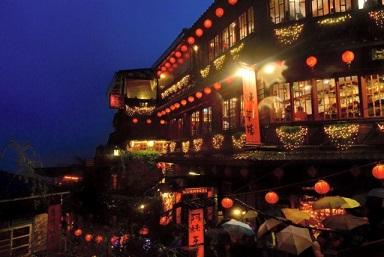 台湾九份「千と千尋の神隠し」ジブリ