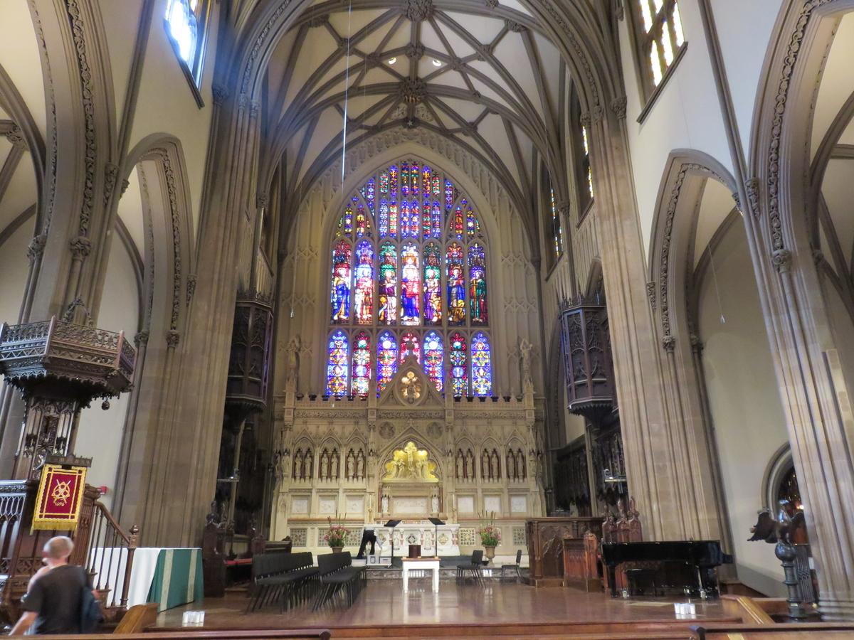 トリニティ教会内観