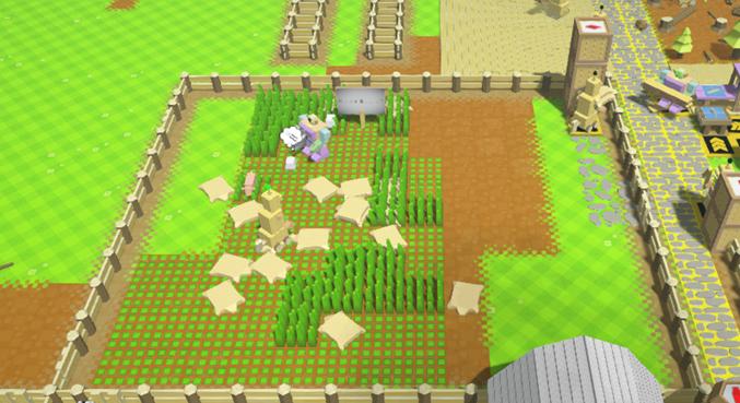 羊牧場完成図