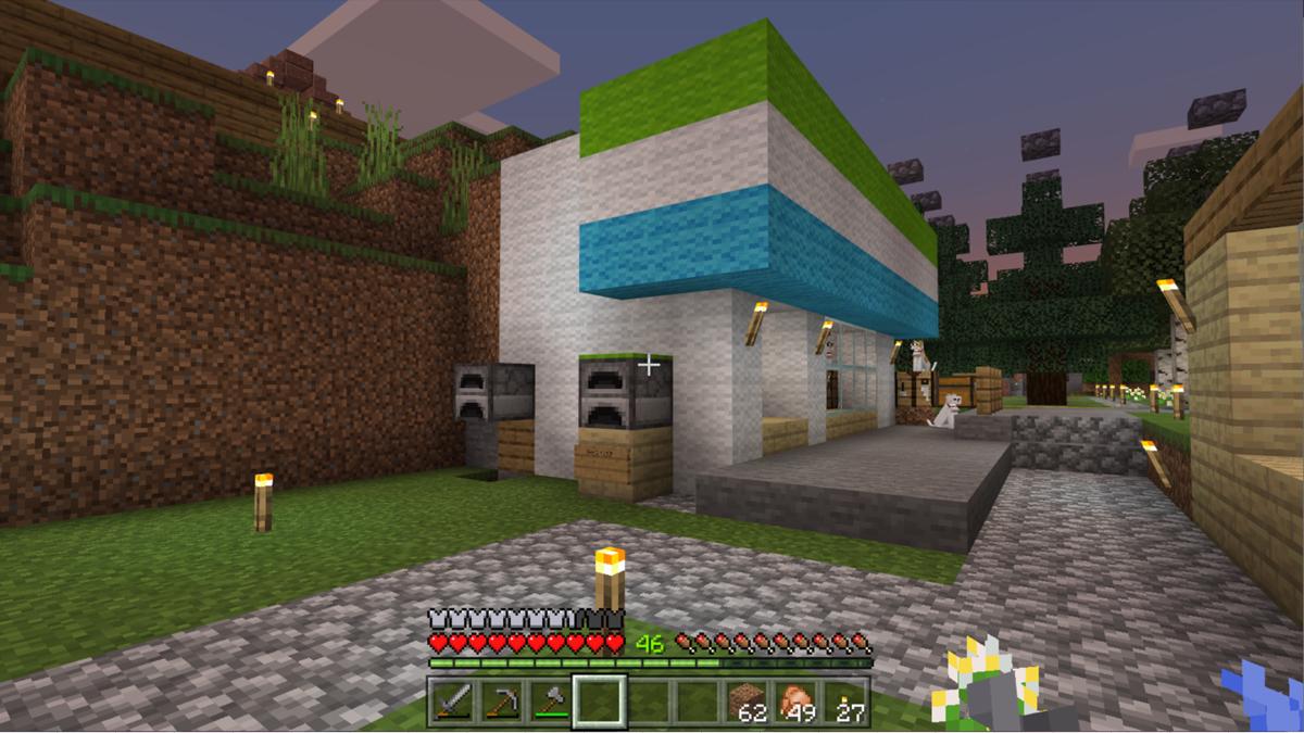 リスナーさんが作ってくれた某コンビニ風建造物