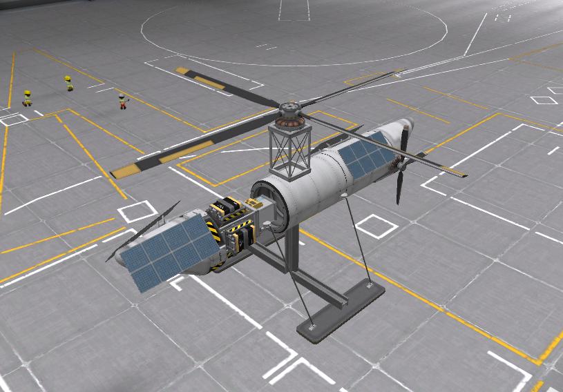 ヘリコプター作成例