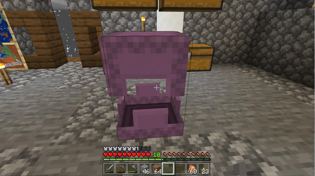 見つけたシュルカーの殻から作ったシュルカーボックス