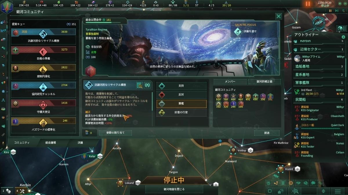 銀河コミュニティ総会