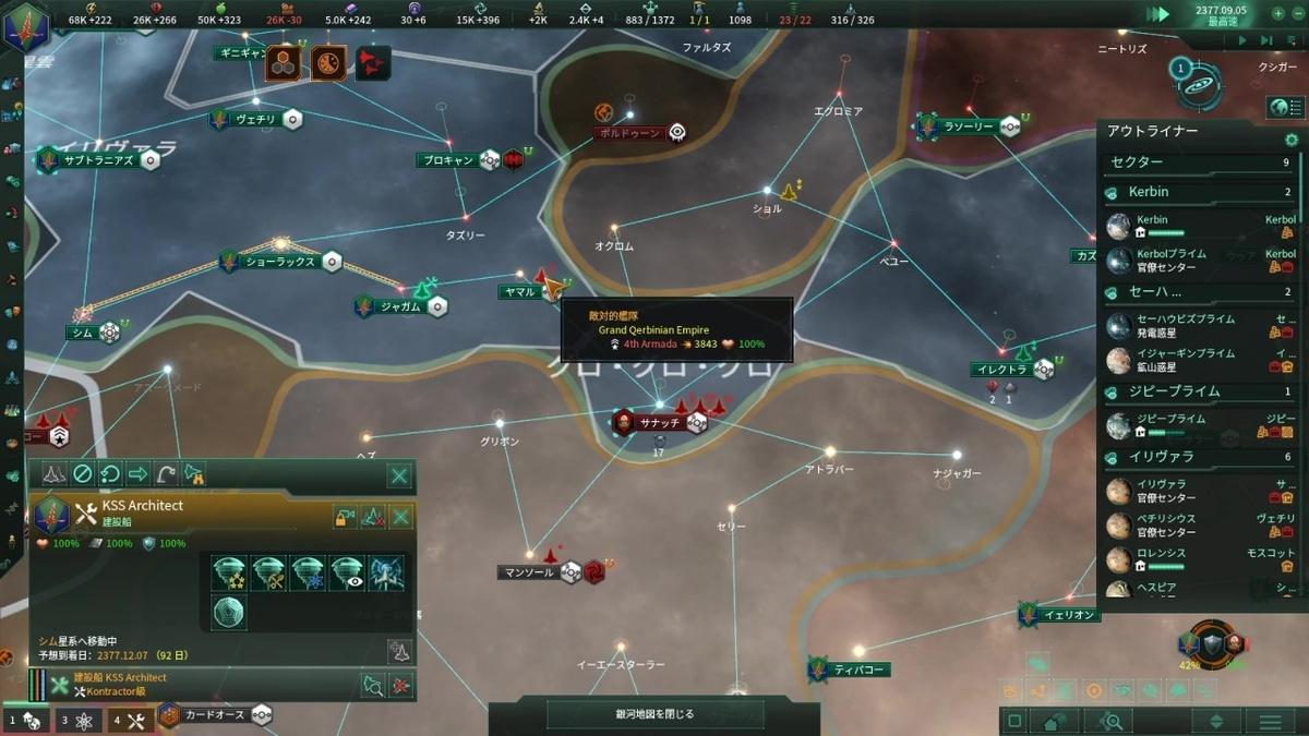 敵の浸透攻撃