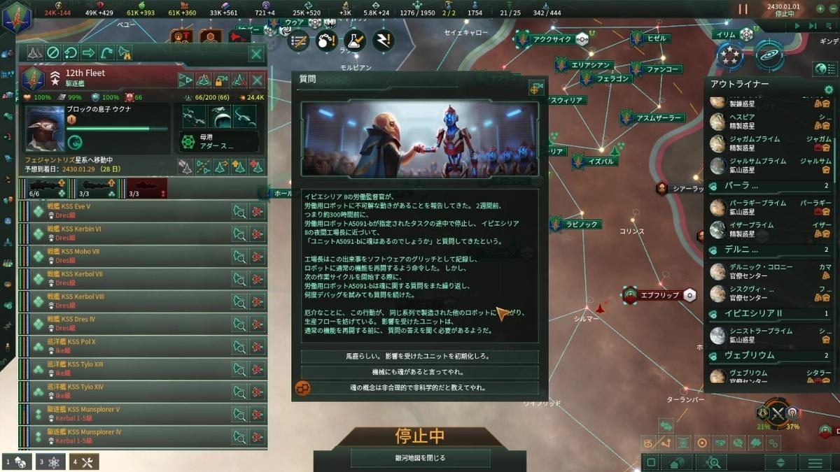 機械の反乱イベント