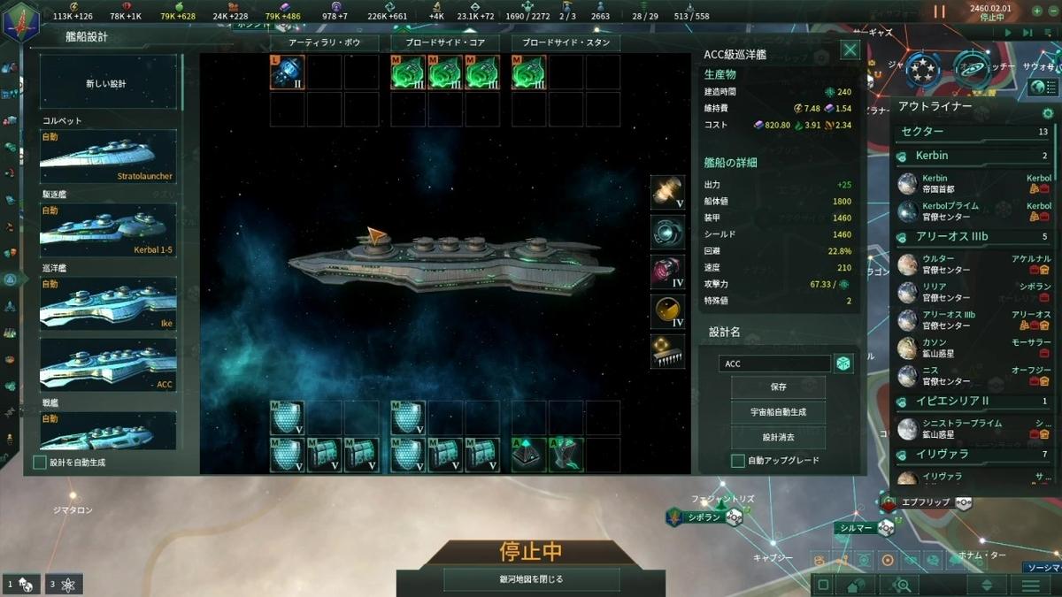 AC(アンチコンティンジェンシー)巡洋艦