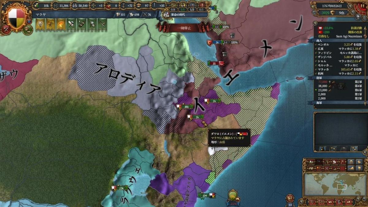 オスマンとペルシャの戦争途中経過