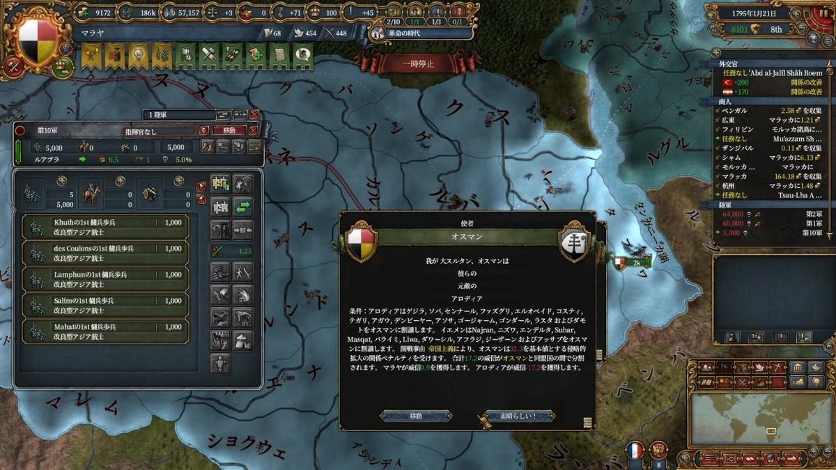 オスマン=アロディア戦争和平