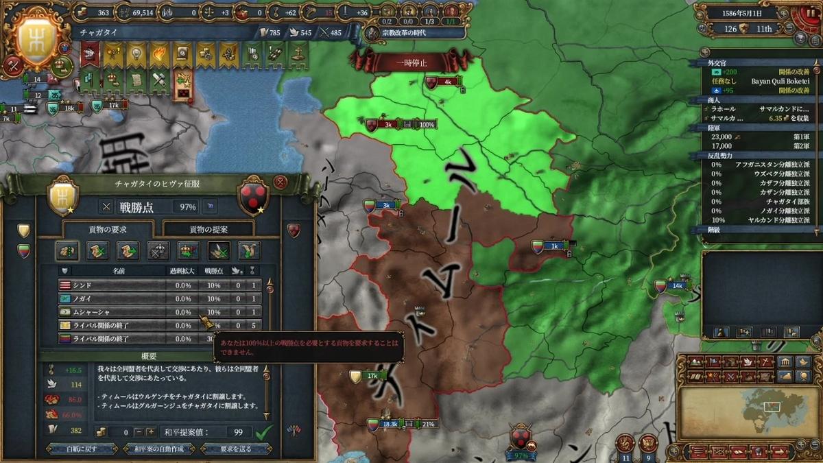 第二次ティムール戦和平